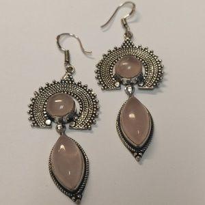 Jewelry - Rose Quartz EARRINGS